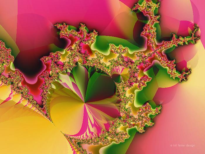 Corsage 1; Digital Illustration by Bill Fester