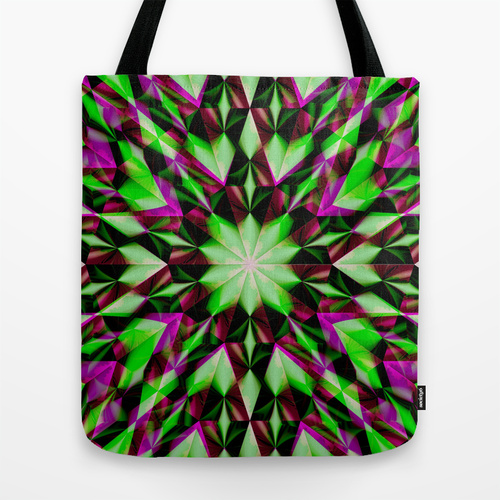 Green Purple Shards-bagtote16_l