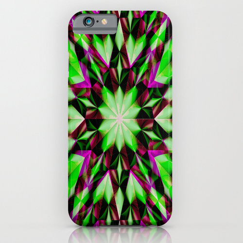 Green Purple Shards-caseiphone647_l