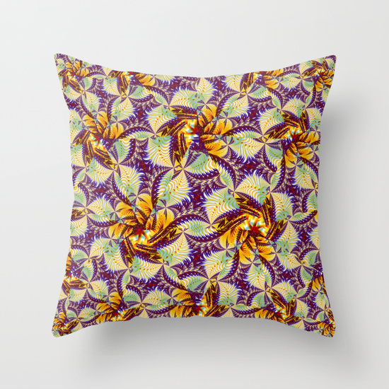Prickly Pattern Pillow