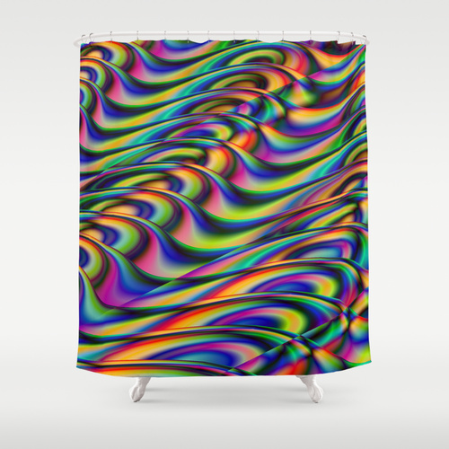 Waves#2 showercurtain